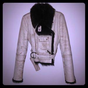 Vintage Fur/Leather Coat